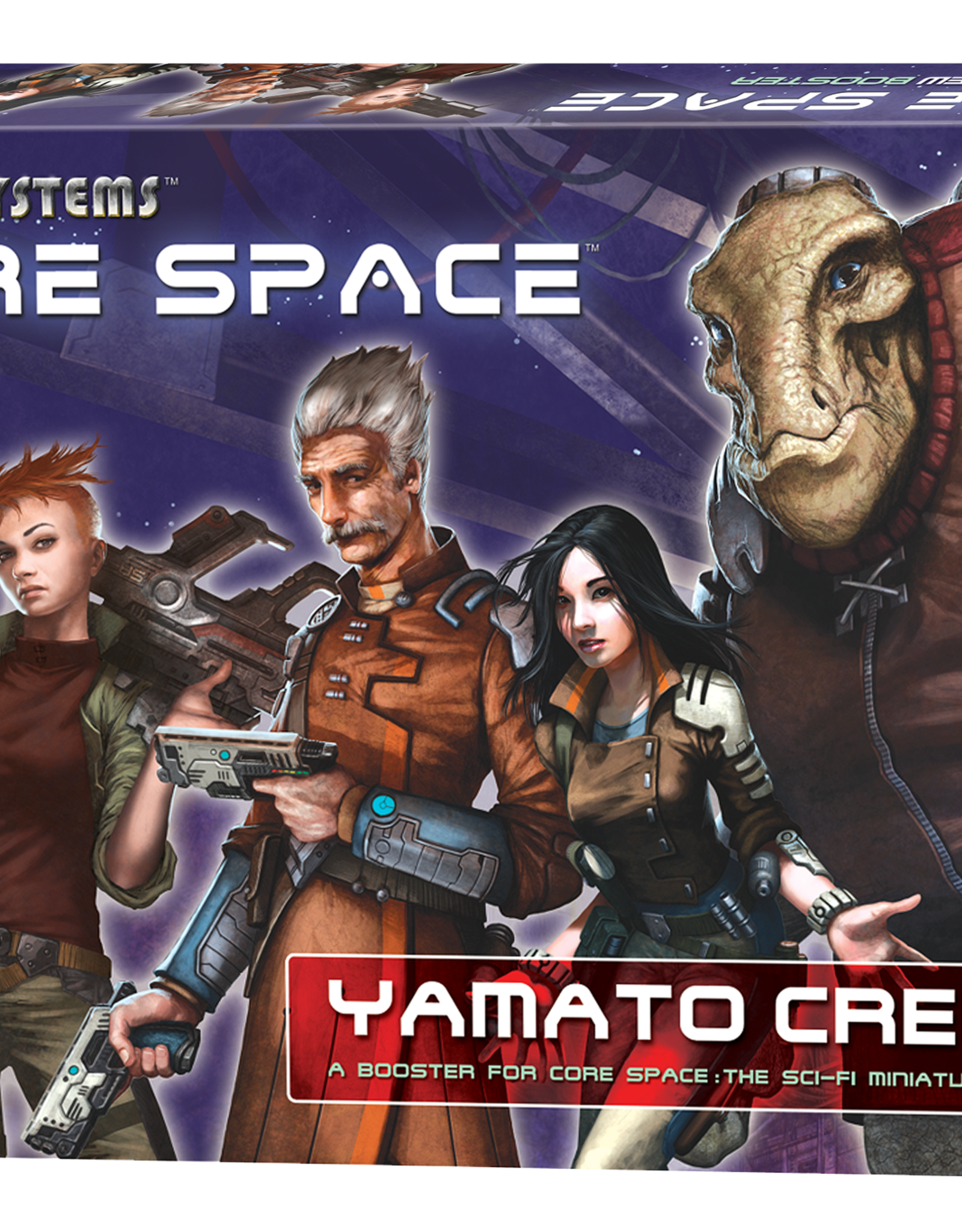 Battle Systems Core Space Yamato Crew