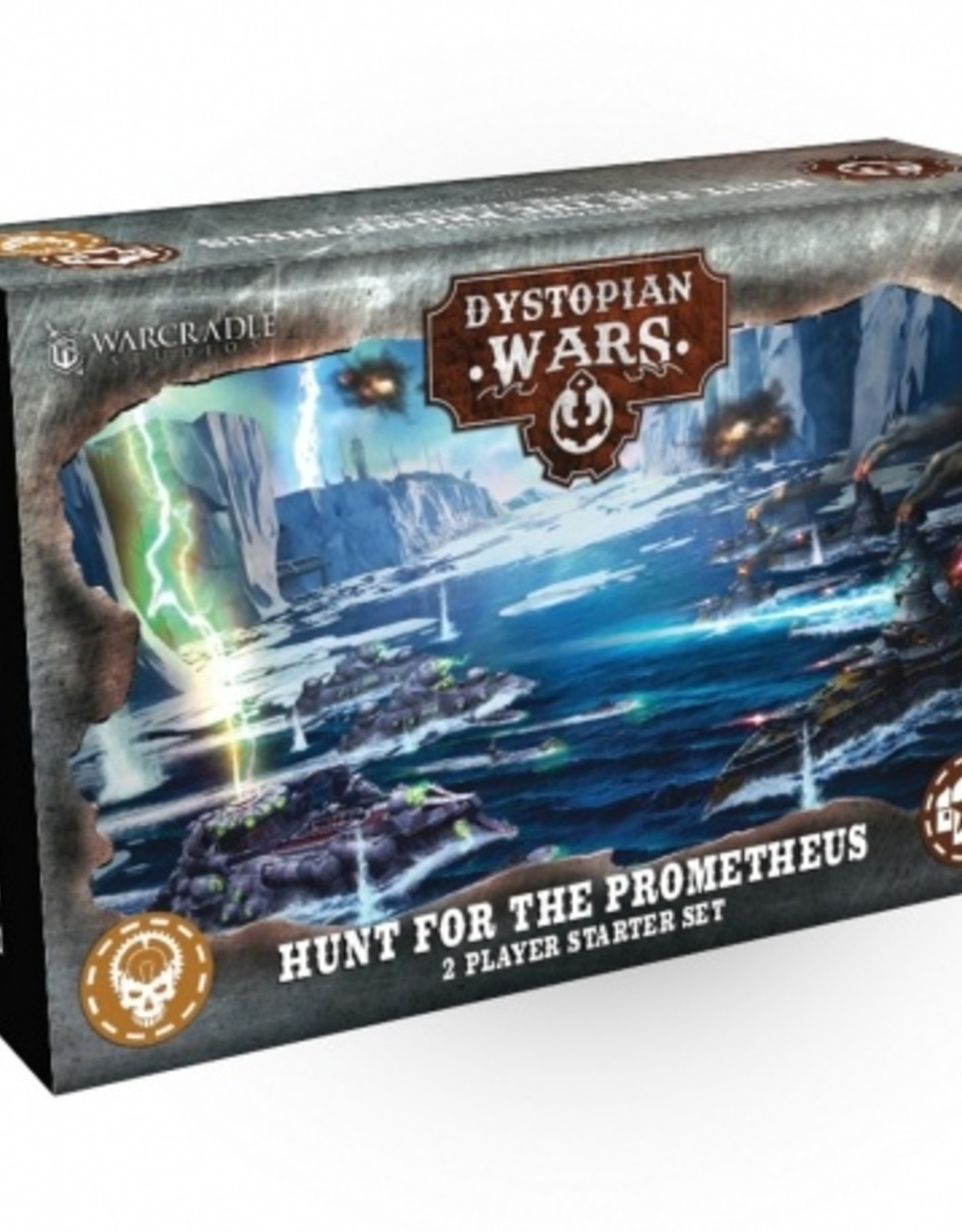 Warcradle Dystopian Wars: The Hunt for the Prometheus - Starter 2 player