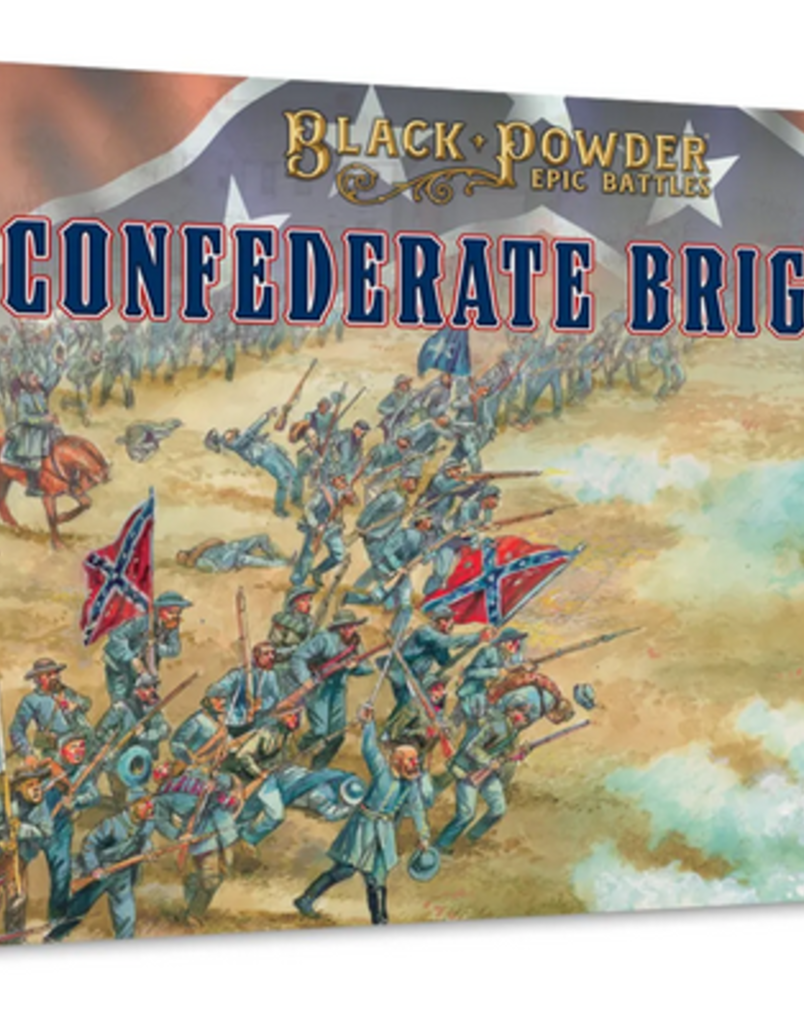 Warlord Black Powder Epic Battles: ACW Confederate Brigade