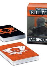 Games Workshop Kill Team: Tac Ops Cards