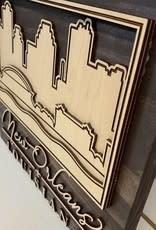 Miche Designs MICHE LA SKYLINE LASER SIGN 3D