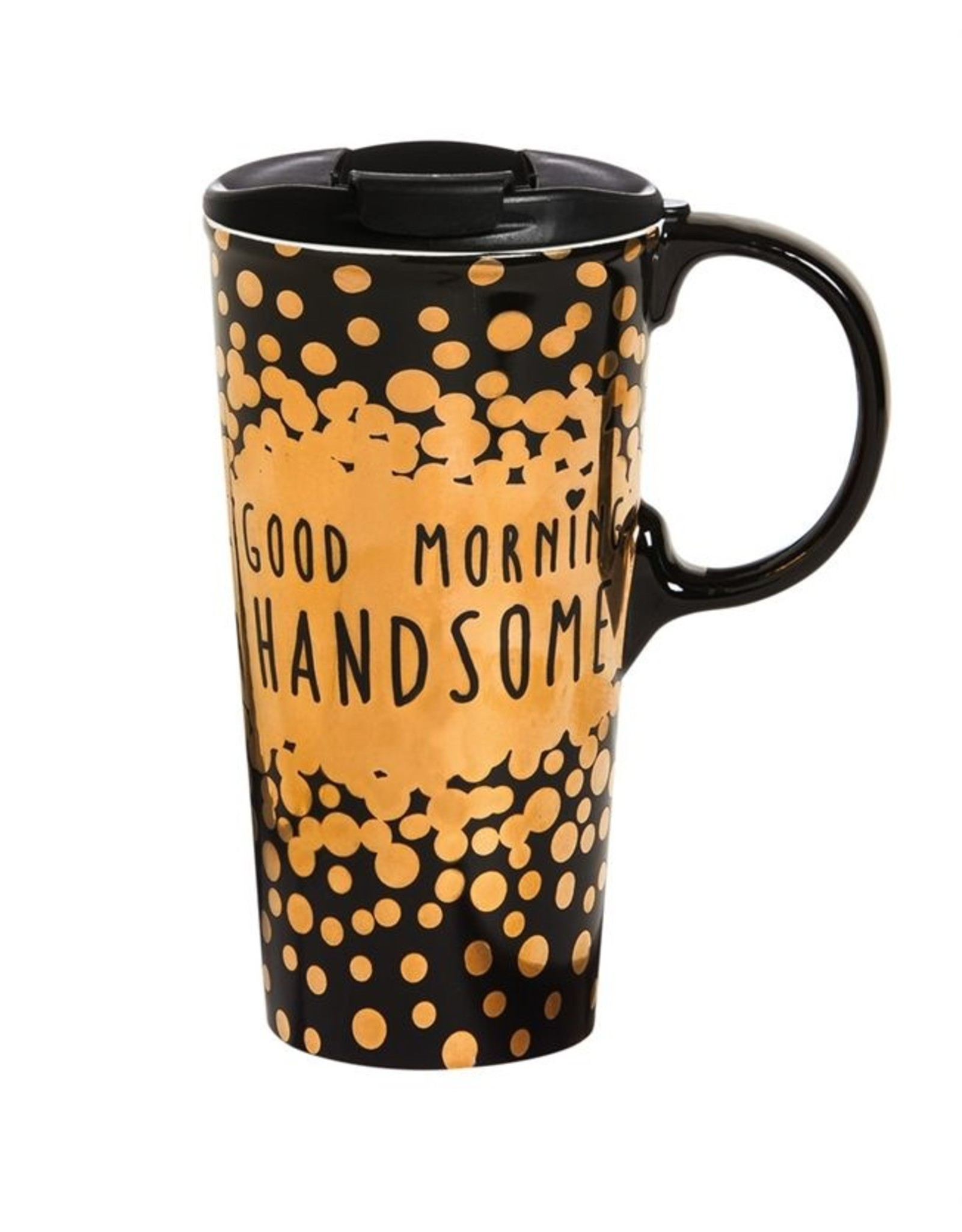 Evergreen Enterprises Good Morning Handsome Ceramic Cup