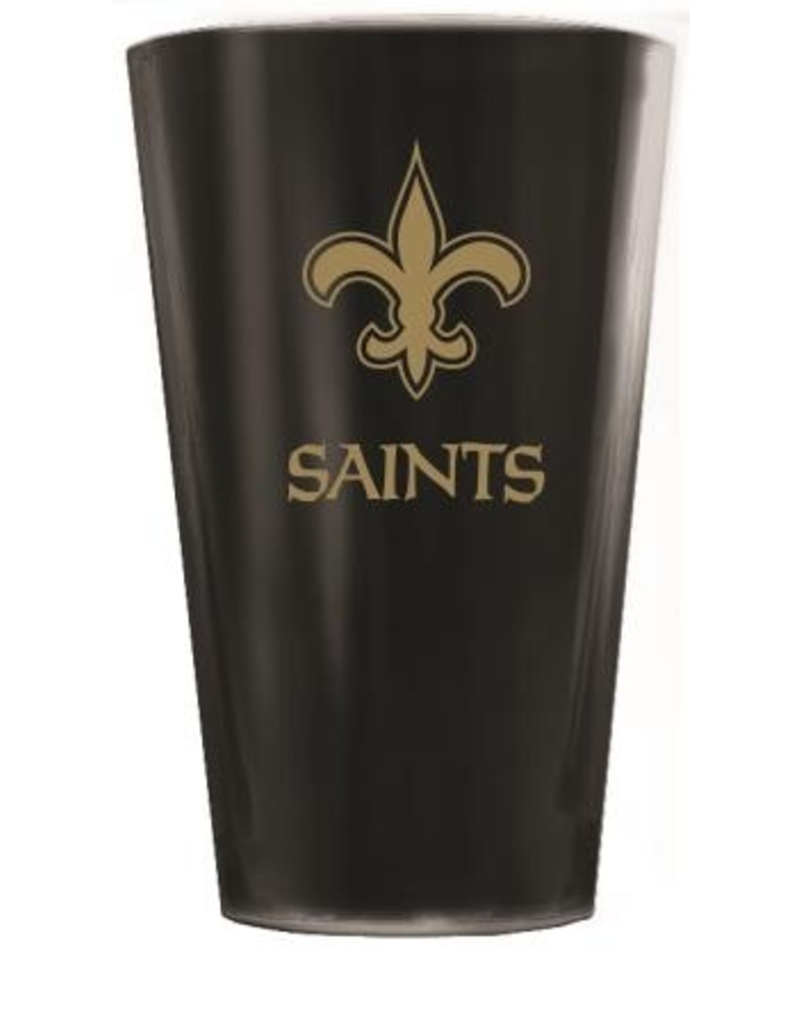 Duck House Sports New Orleans Saints Glacier Glass Highball- Solid