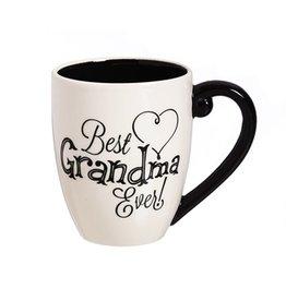 Evergreen Enterprises Best Grandma Ever Ceramic Mug