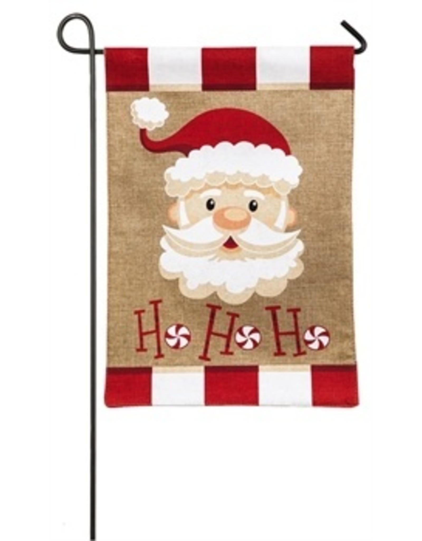 Evergreen Enterprises Santa Ho Ho Ho Garden Flag