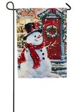 Evergreen Enterprises Snow Place Like Home Garden Flag