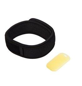 Evergreen Enterprises Z-Fence Natural Mosquito Repellent Wristband w/ Refills Black