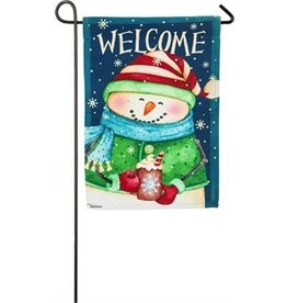 Evergreen Enterprises Snow Country Garden Suede Flag