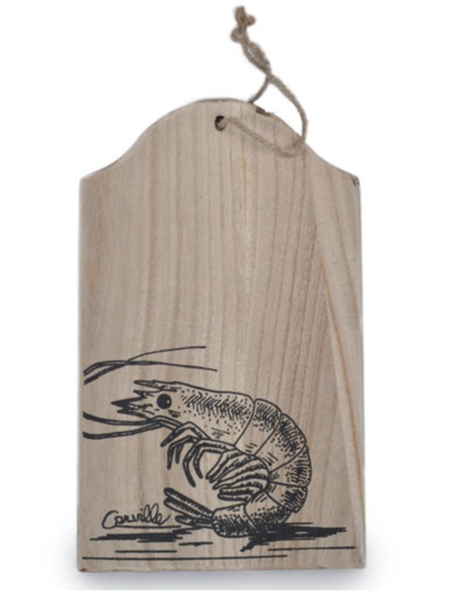 Roux Brand Decorative Wooden Board-Shrimp