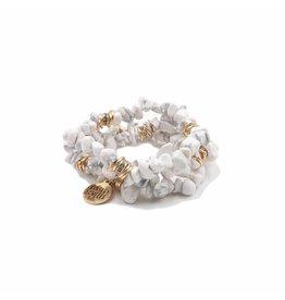 Kinsley Armelle Pepper Bracelet-Cluster Collection