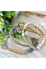 Kinsley Armelle Haze Bracelet-Glitz Collection