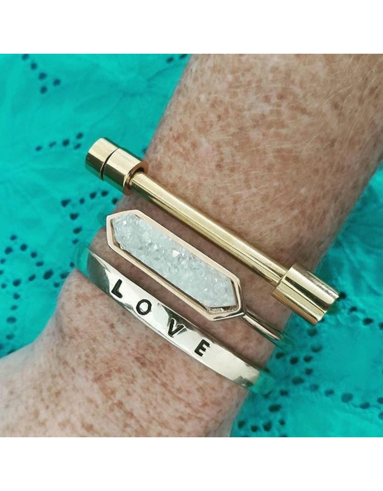 Kinsley Armelle Gold Bracelet-Bar Collection
