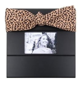 Mainstreet Collection Black Leopardista Bow Frame