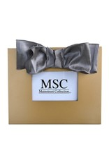 Mainstreet Collection Gold/Silver Chiffon Bow Frame