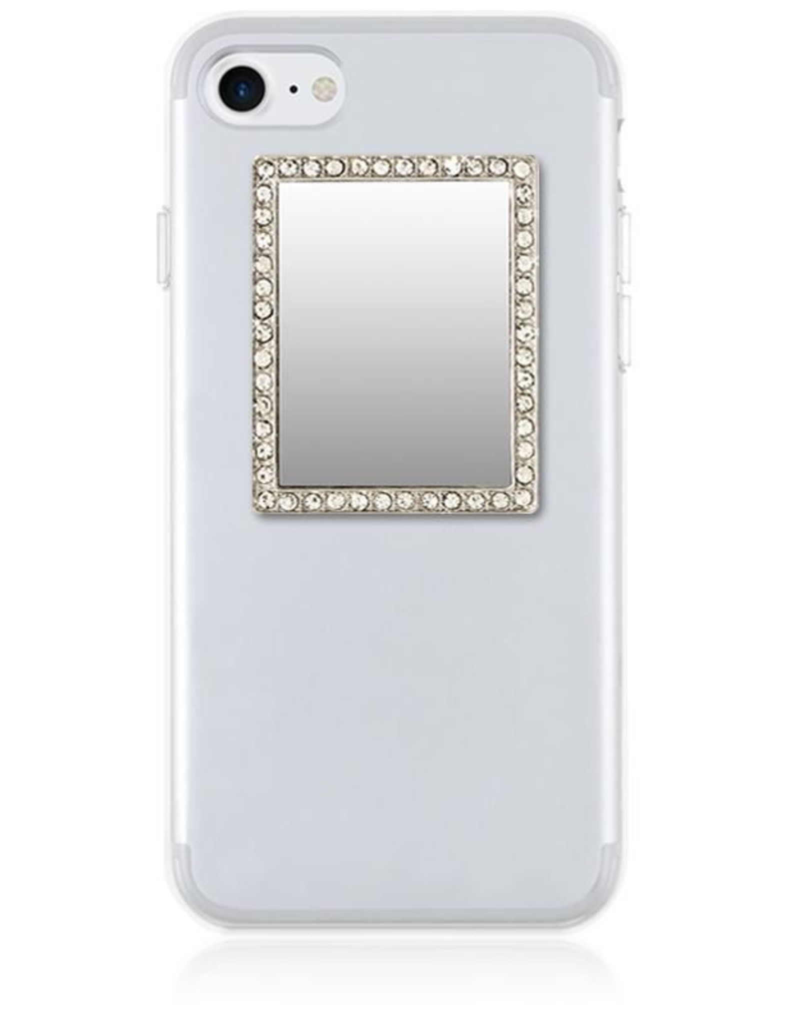 iDecoz Rectangle Seflie Mirror-SIlver