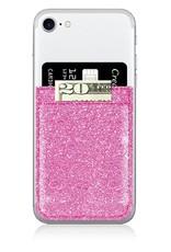 iDecoz Pink Glitter Phone Pocket