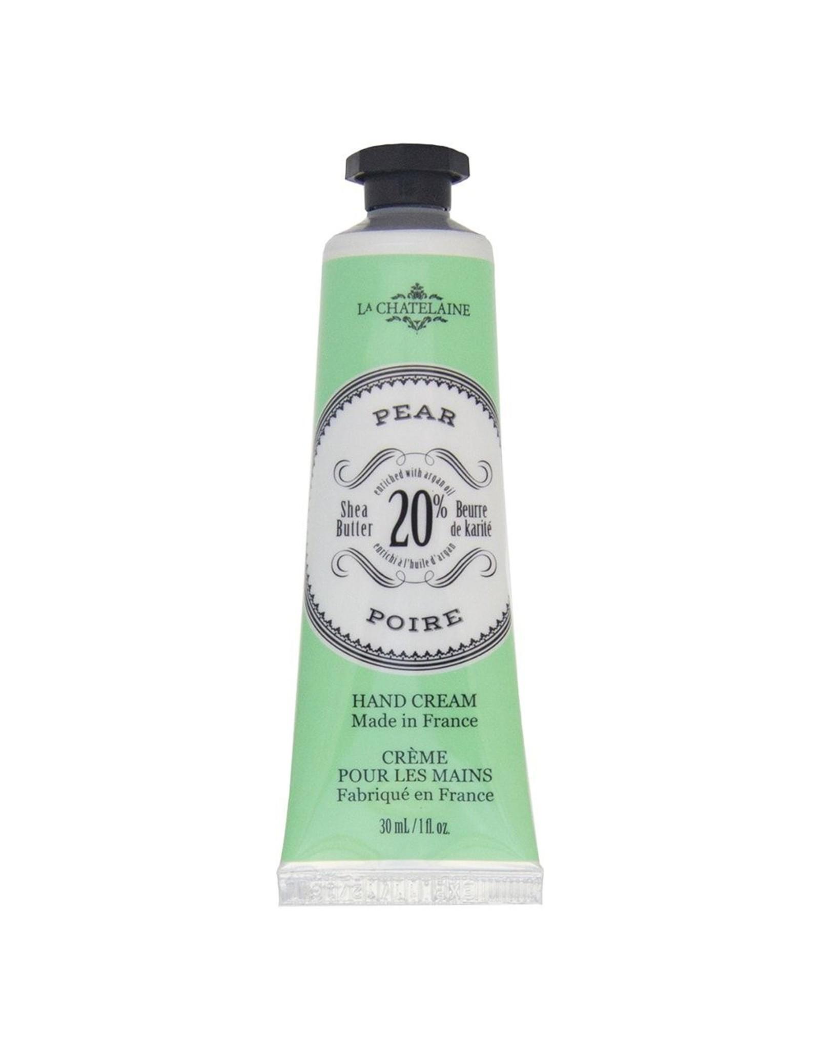 La Chatelaine Pear Hand Cream