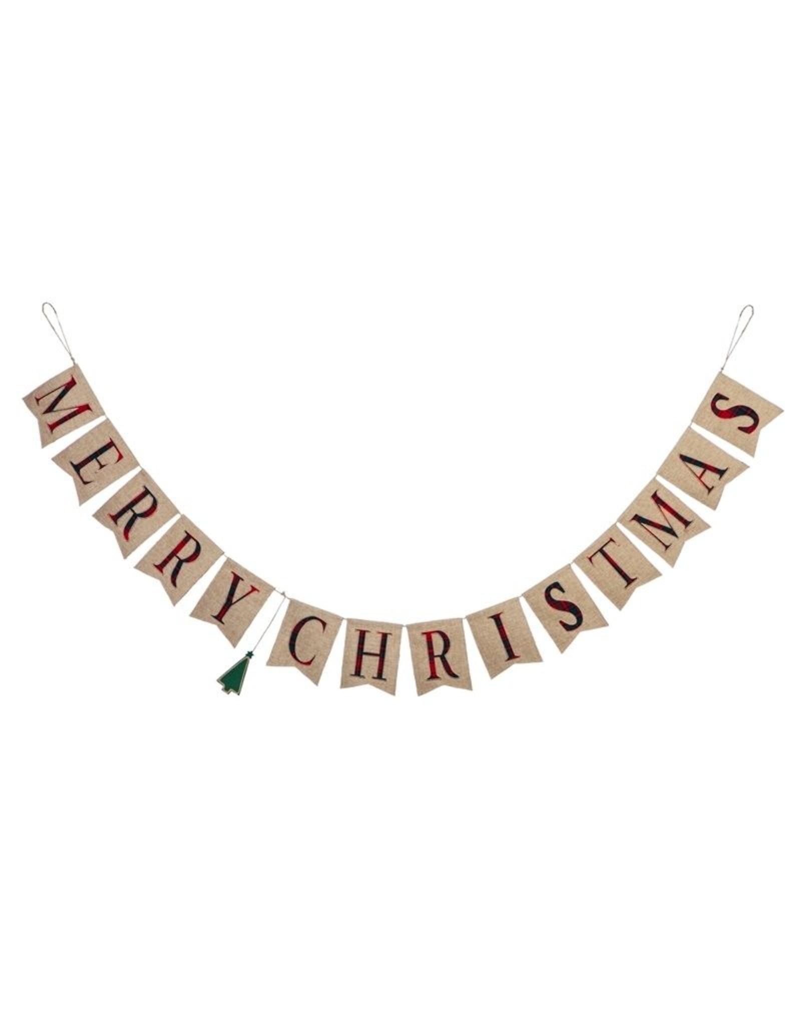 Evergreen Enterprises Merry Christmas Seasonal Decor Banner
