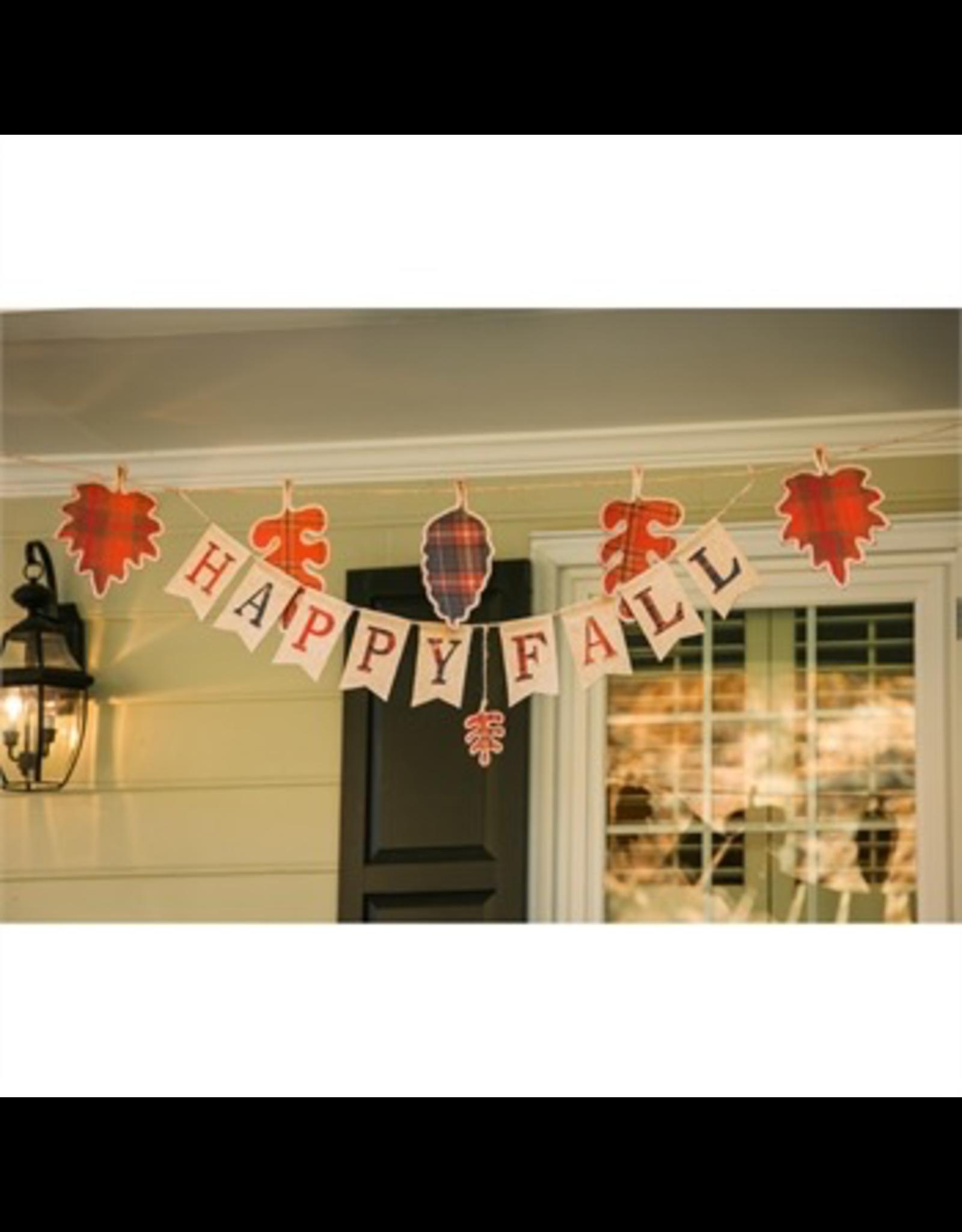 Evergreen Enterprises Fall Foliage Seasonal Decor Banner