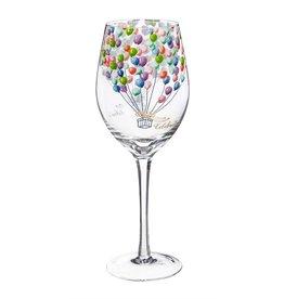 Evergreen Enterprises Celebrate Wine Glass w/ box 12 oz.
