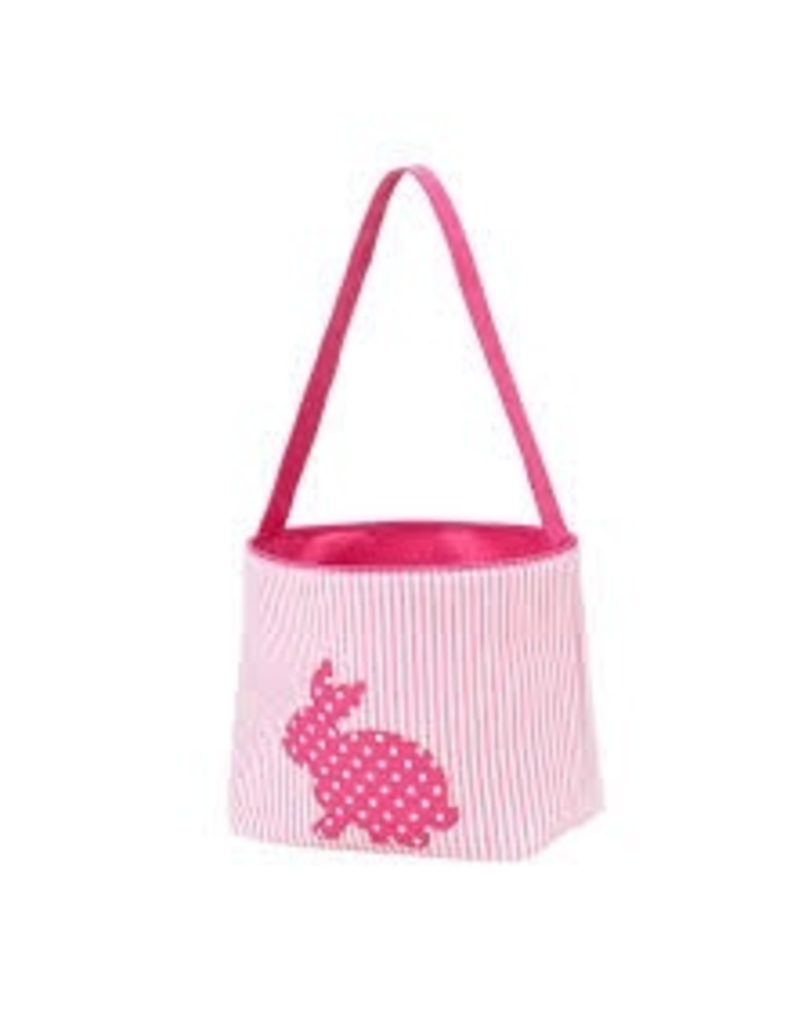 Wholesale Boutique Hot Pink Cotton Tail Easter Bucket