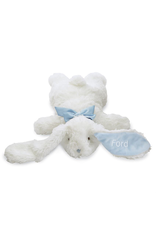 Mudpie Flat Rabbit Plush Boy/Blue