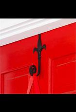 Evergreen Enterprises Fleur de Lis Flag Door Hanger Holder