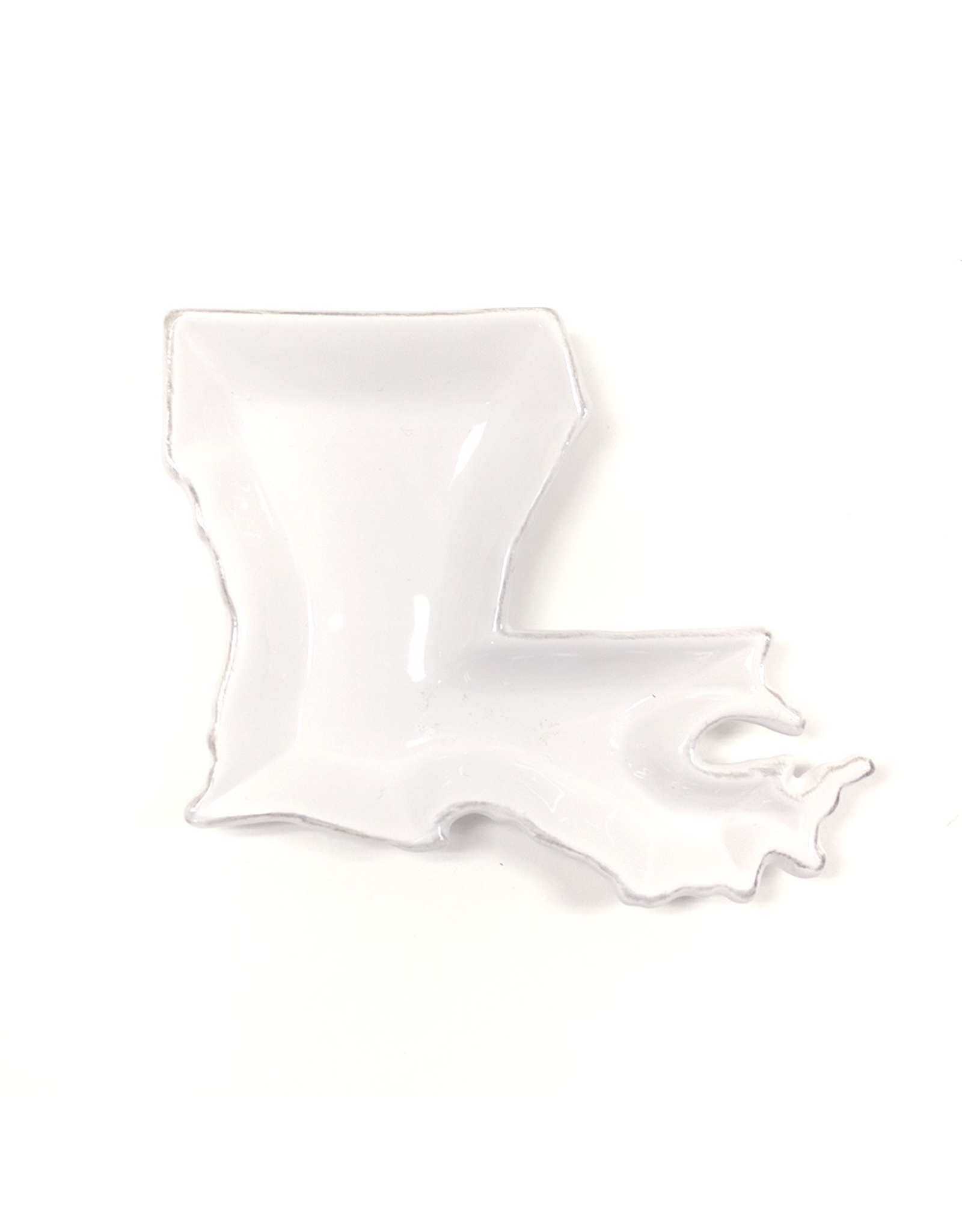 "The Royal Standard Louisiana Shaped Platter 10"""