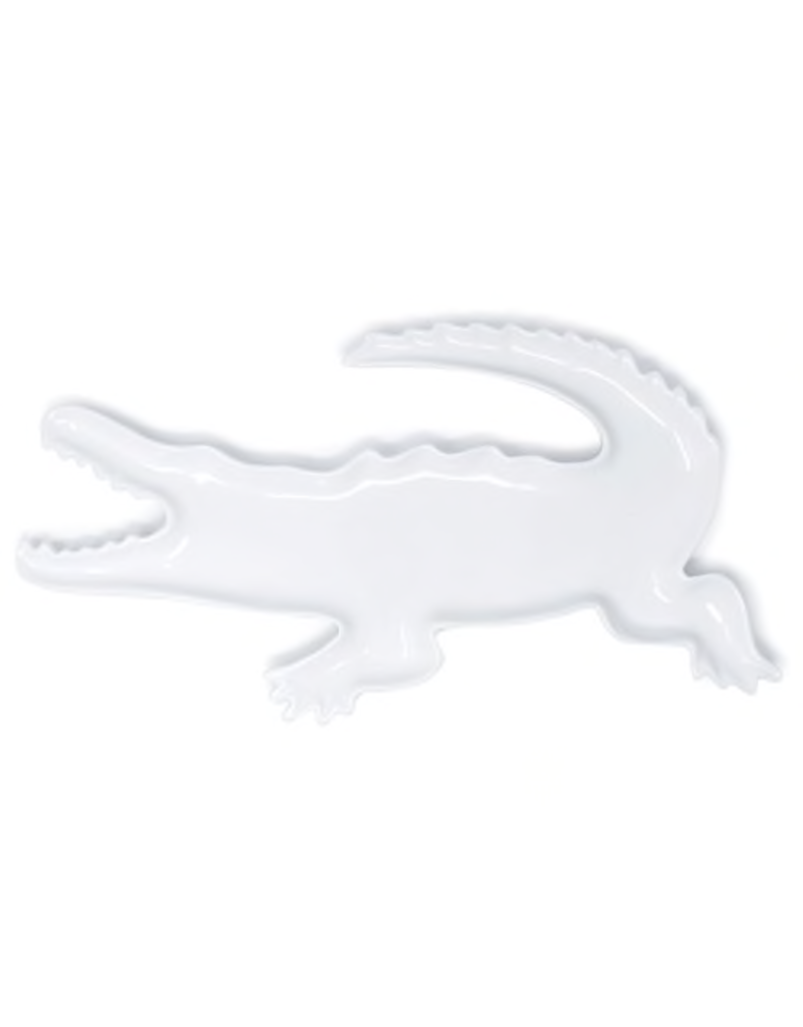Roux Brand Ceramic Alligator Platter