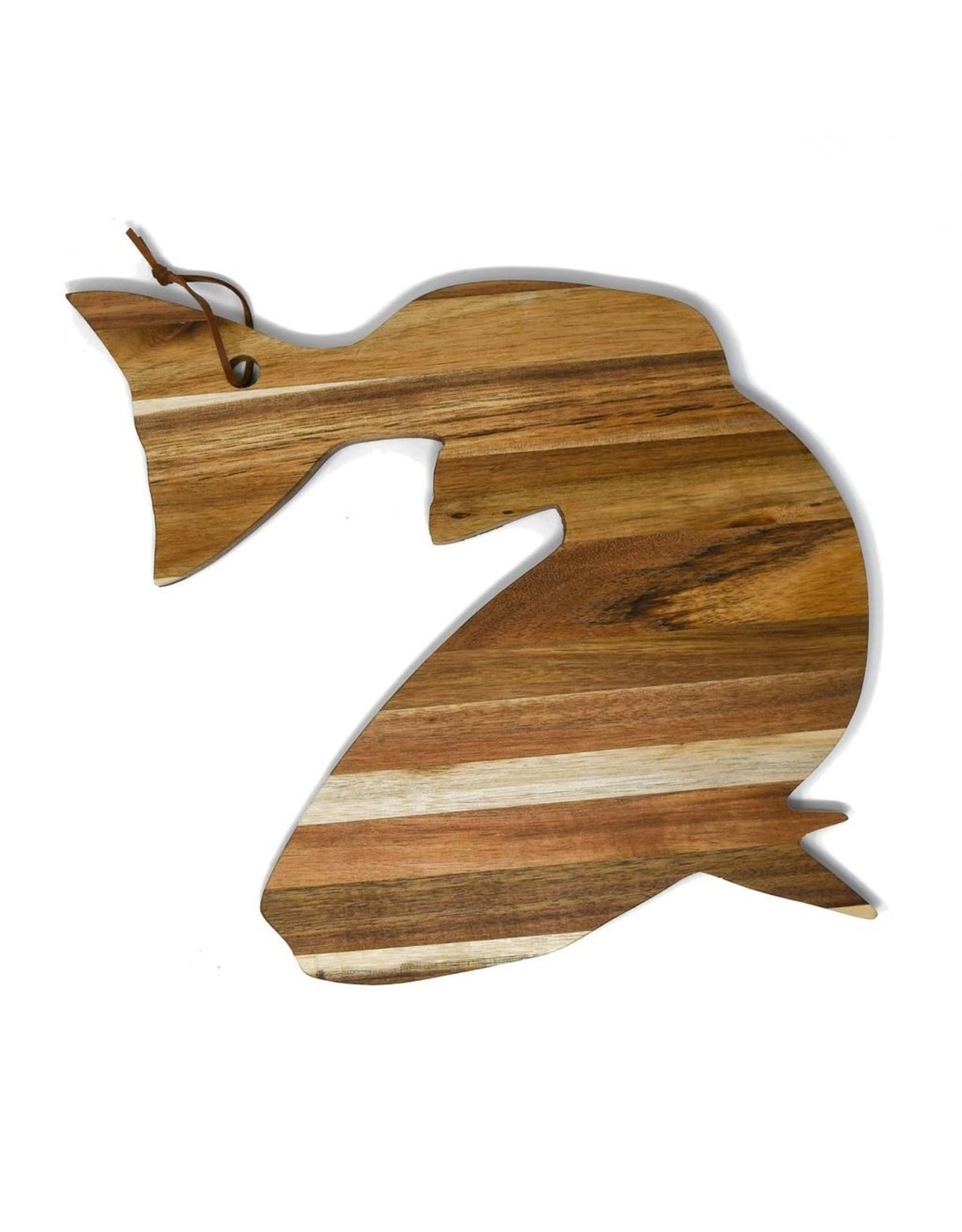 Roux Brand Acacia Wood Serve Board - Redfish