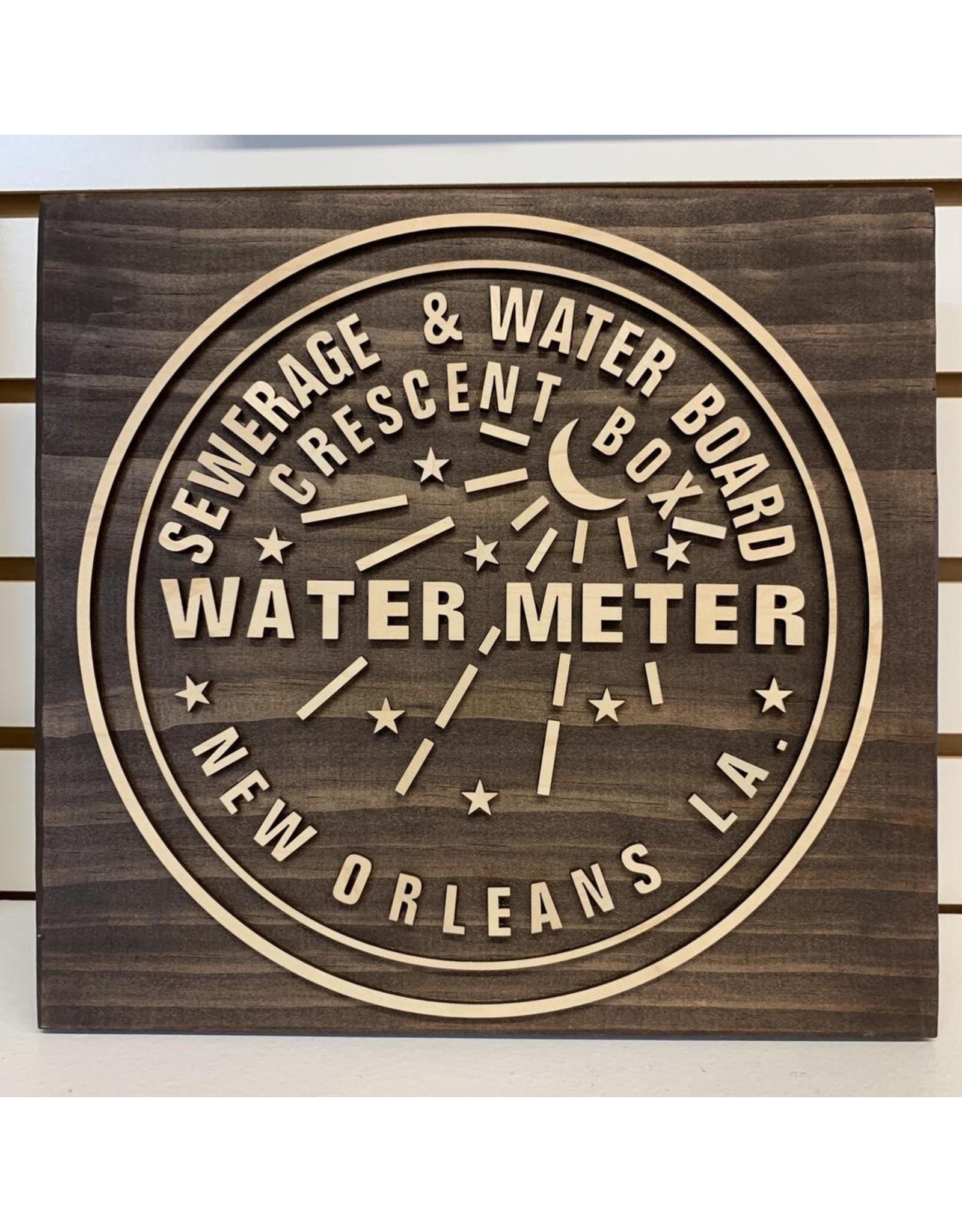 Miche Designs MICHE-WATER METER LASER 3D SIGN