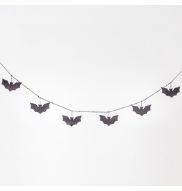 Adams & Co. Felt Swag (Bats), Black