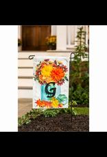 Evergreen Enterprises Fall Mums Floral Mason Jar Garden Linen Flag