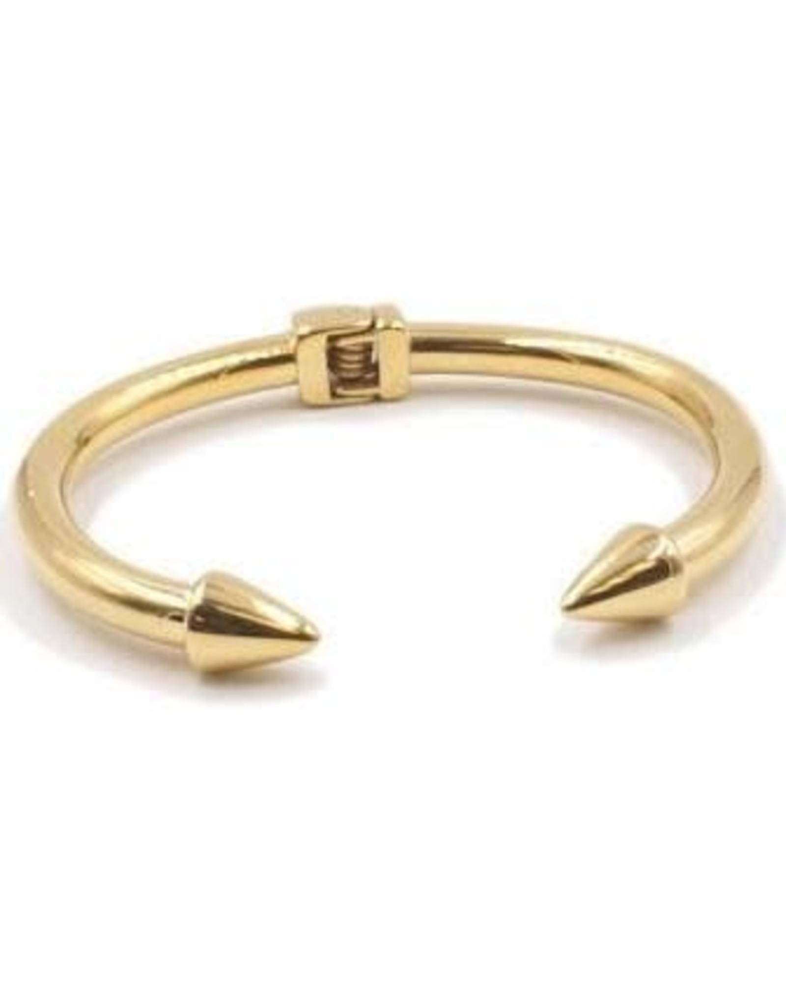 Kinsley Armelle Gold Bracelet-Spike Collection