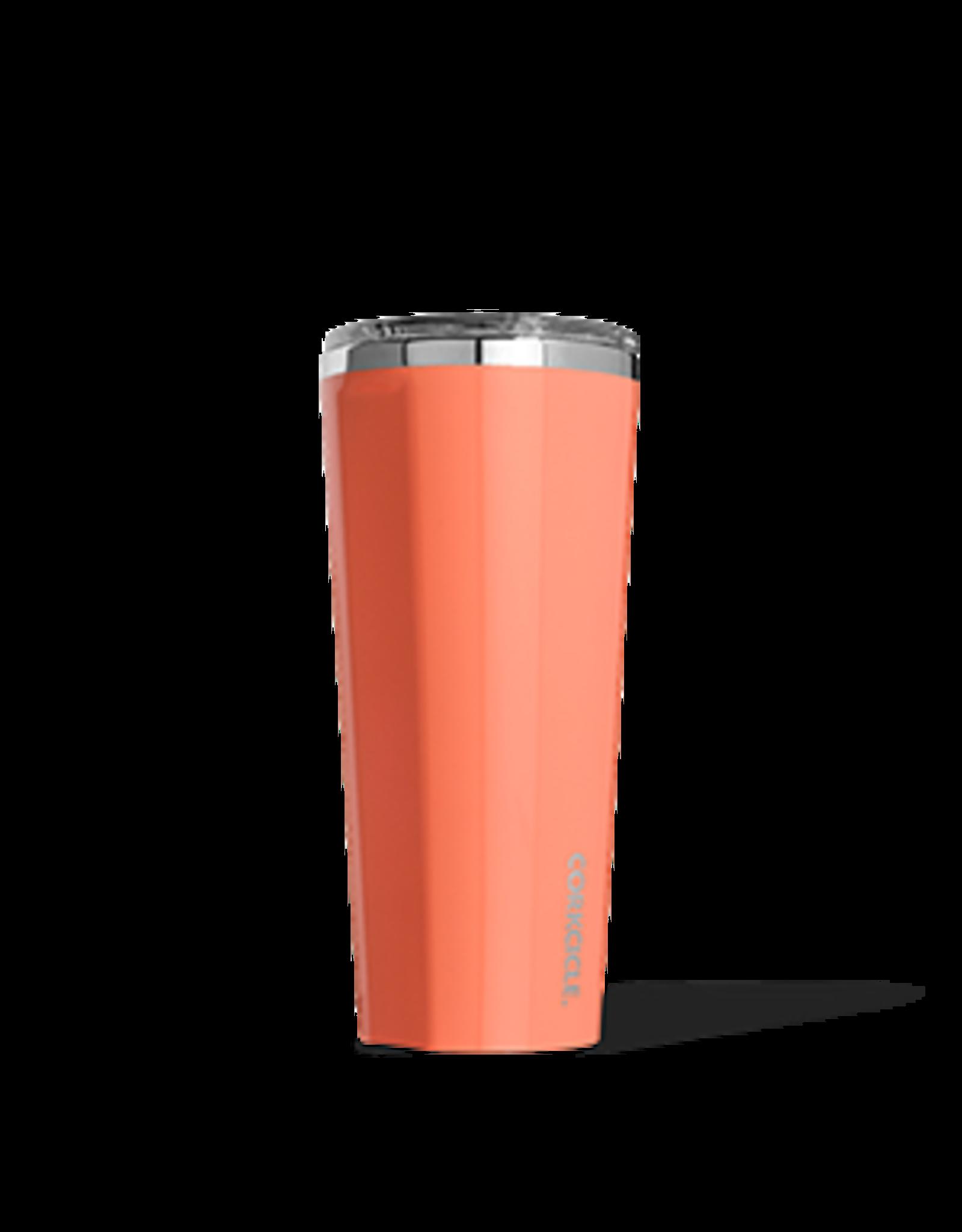 Corkcicle Tumbler - 24oz Gloss Peach Echo