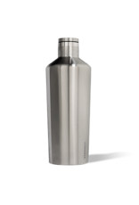 Corkcicle Canteen - 60oz Brushed Steel