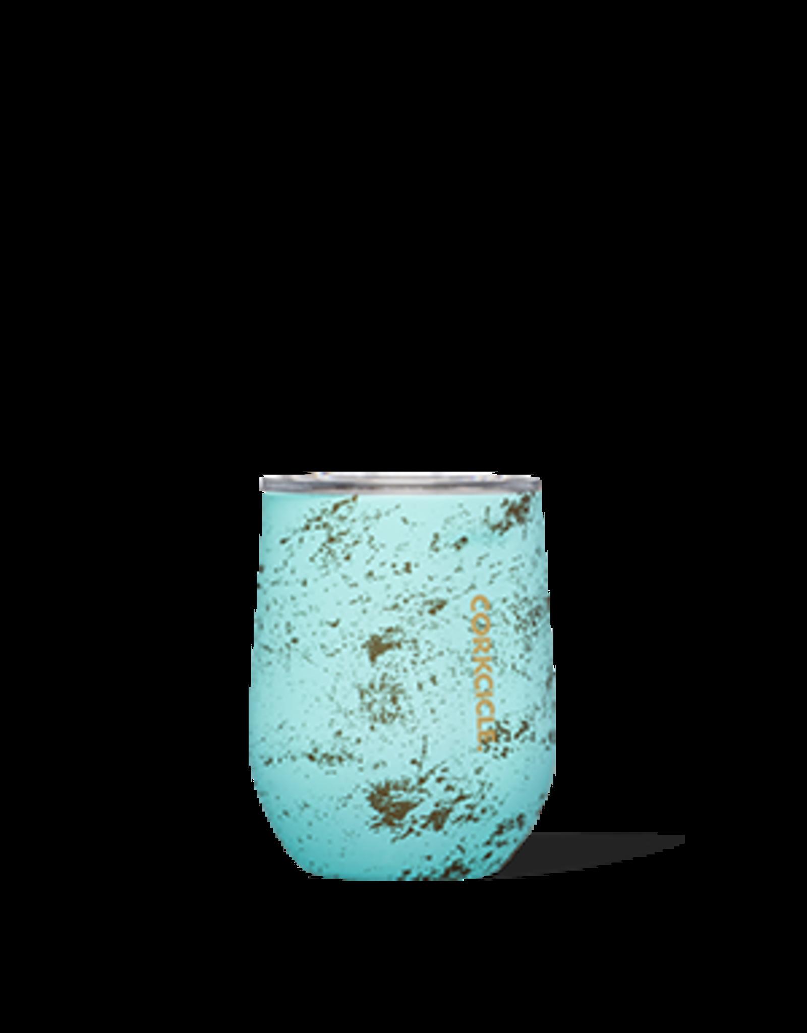 Corkcicle Stemless - 12 oz Bali Blue