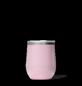 Corkcicle Stemless - 12 oz Gloss Rose Quartz