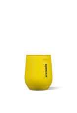 Corkcicle Stemless - 12 oz Neon Lights Neon Yellow