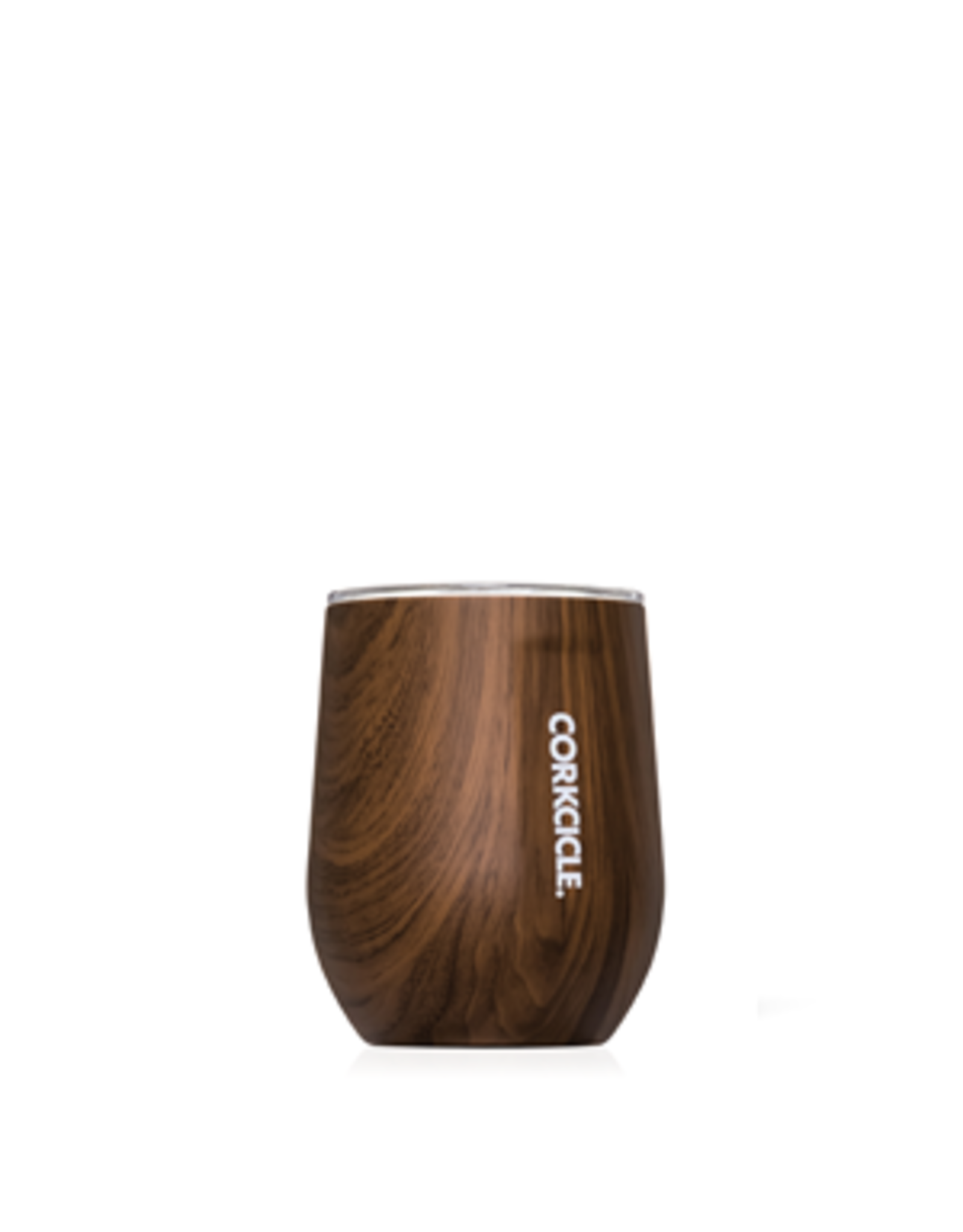 Corkcicle Stemless - 12oz Walnut