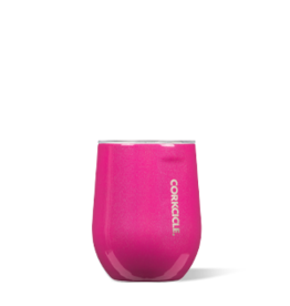 Corkcicle Stemless - 12oz Unicorn Sparkle Pink Dazzle