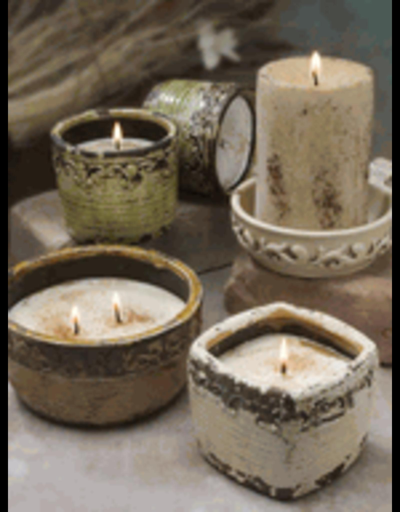 Swan Creek Candles Vintage Round Pot Butterscotch Brandy