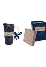 Evergreen Enterprises Ceramic Travel Cup w/box-Best Grandpa Ever