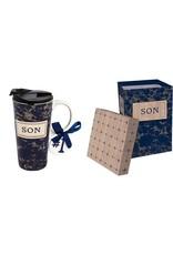 Evergreen Enterprises Ceramic Travel Cup w/box-Best Son Ever