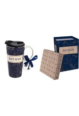 Evergreen Enterprises Ceramic Travel Cup w/box-Best Father Ever