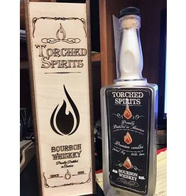 Torched Spirits Bourbon Whiskey Candle-Bourbon Whiskey
