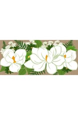 Evergreen Enterprises Magnolias Burlap Sassafras Switch Mat