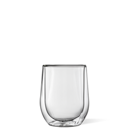 Corkcicle Glass Stemless - Double Pack - Clear