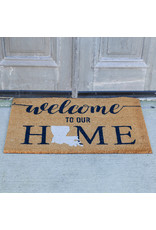 The Royal Standard Louisiana Welcome Coir Doormat