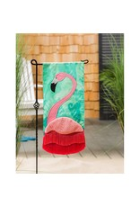 Evergreen Enterprises Flamingo Fringe Everlasting Impressions Textile Décor